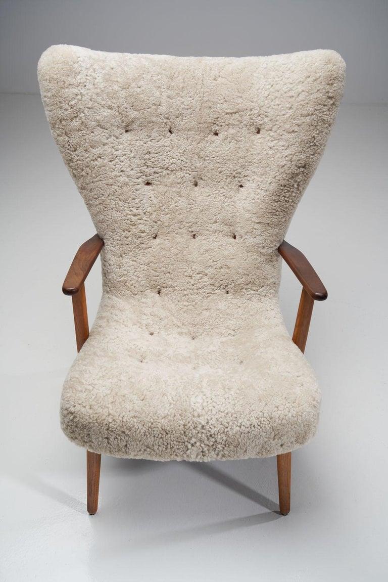 """The Prague Chair"" by Madsen & Schubell, Denmark, 1950s 2"