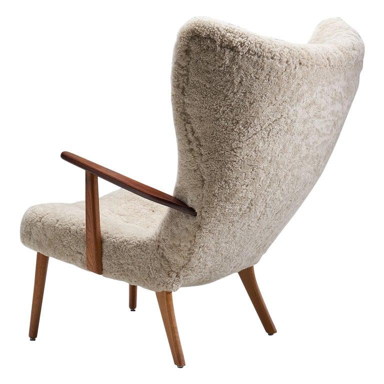 """The Prague Chair"" by Madsen & Schubell, Denmark, 1950s"