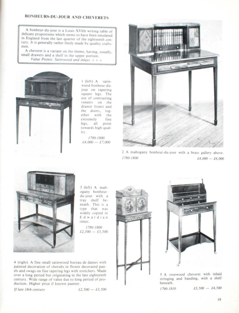 English - The Price Guide To Antique Furniture