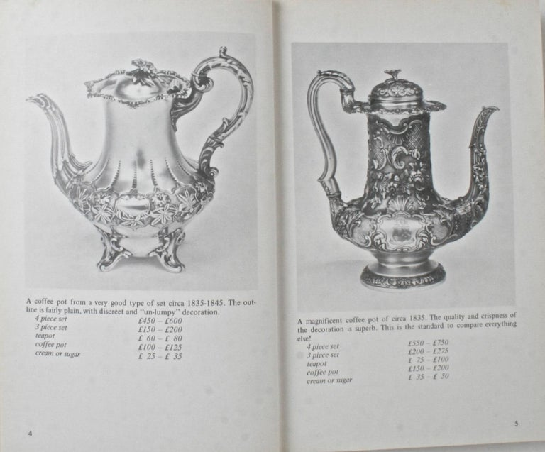 The Price Guide to Victorian Silver by Ian Harris, 1st Ed In Good Condition For Sale In valatie, NY