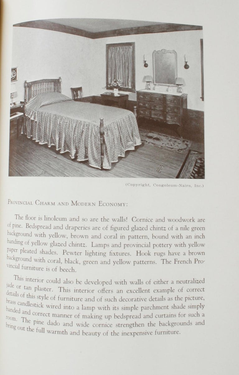 20th Century Principles and Practice of Interior Decoration by Katherine Muselwhite For Sale