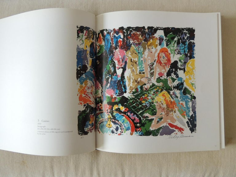 The Prints of LeRoy Neiman A Catalogue Raisonné hardcover coffee table book A beautiful book. Contains more than 100 works, more than half in full color. There is also information about the author's life. Many of the prints are on sports, including