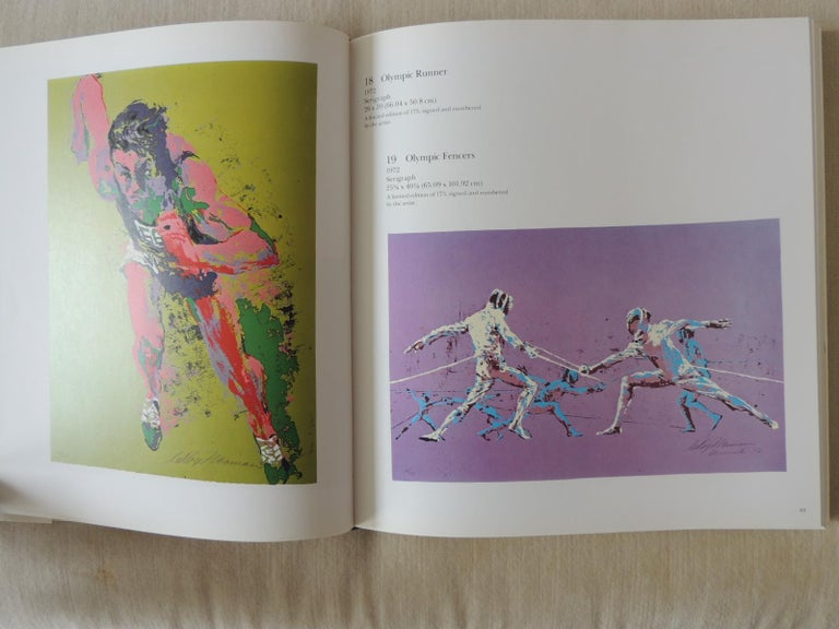 Adam Style The Prints of LeRoy Neiman A Catalogue Raisonné Hardcover Coffee Table Book For Sale