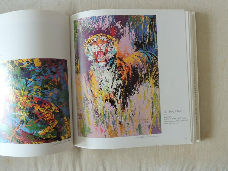 North American The Prints of LeRoy Neiman A Catalogue Raisonné Hardcover Coffee Table Book For Sale