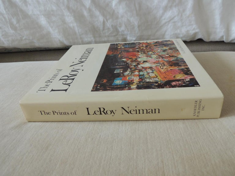 The Prints of LeRoy Neiman A Catalogue Raisonné Hardcover Coffee Table Book In Good Condition For Sale In Oakland Park, FL
