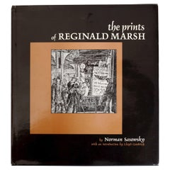 The Prints of Reginald Marsh by Norman Sasowsky, Catalog Raisonne, First Edition