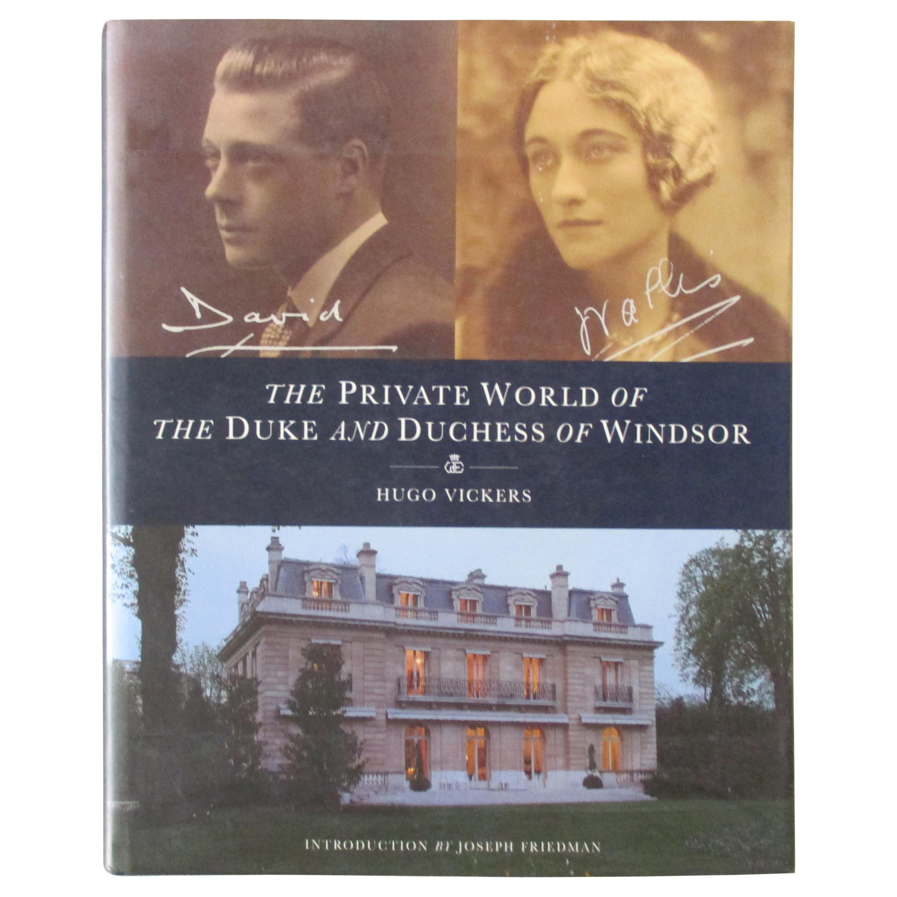 'The Private World of the Duke and Duchess of Windsor' Book