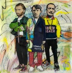 Van Gogh, Picasso, Dali