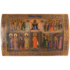 The Protective Veil of Mary with Feast of Romanos the Melodist