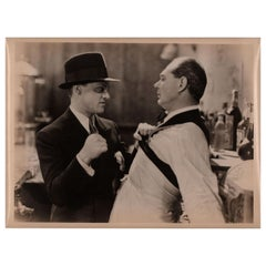 """The Public Enemy"" 1931 Argentine Silver Gelatin Single-Weight Photo"