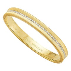 "The ""Q"" Bracelet, 18 Karat Yellow Gold and Diamond, Q8"