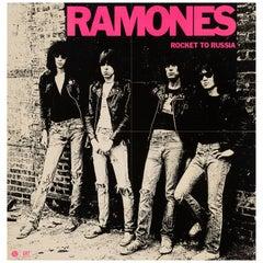 Ramones Original Vintage Rocket to Russia Promo Poster, American, 1977