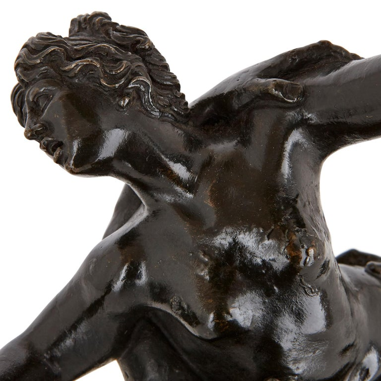 Gilt 'The Rape of the Sabines', Bronze Sculpture after Giambologna For Sale