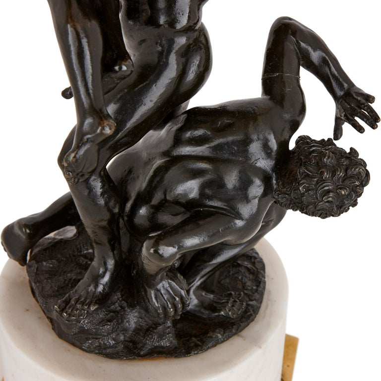 19th Century 'The Rape of the Sabines', Bronze Sculpture after Giambologna For Sale