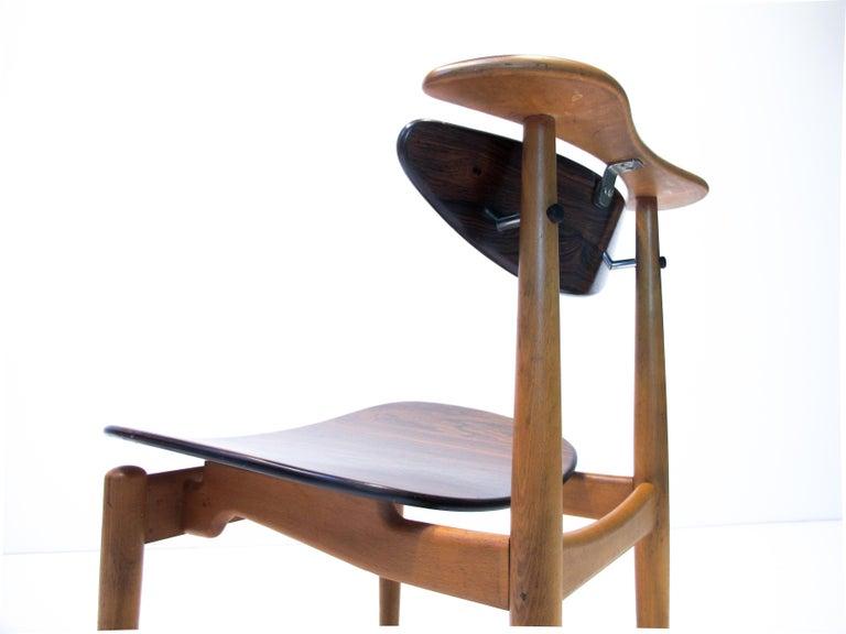 Danish Finn Juhl  Bo62, the Reading Chair by Bovirke. 1953 For Sale