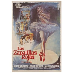 The Red Shoes R1966 Spanish B1 Film Poster