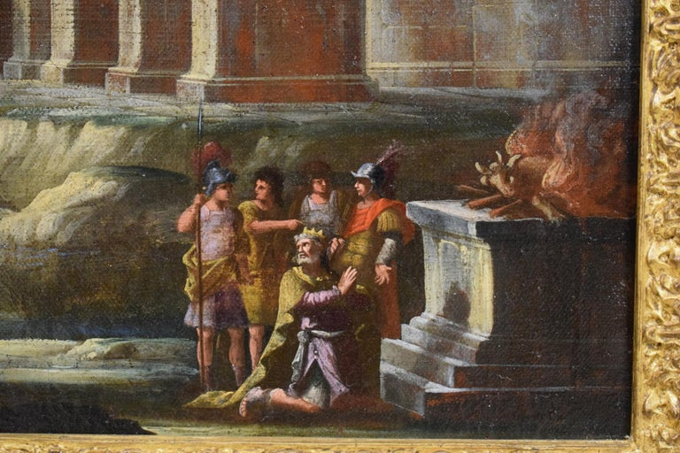 Repentance and Sacrifice of King David, Alberto Carlieri 'Rome 1672-1720' For Sale 5