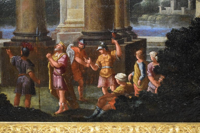 Repentance and Sacrifice of King David, Alberto Carlieri 'Rome 1672-1720' For Sale 9