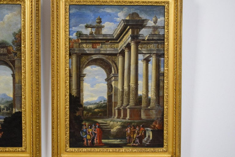 Early 18th Century Repentance and Sacrifice of King David, Alberto Carlieri 'Rome 1672-1720' For Sale