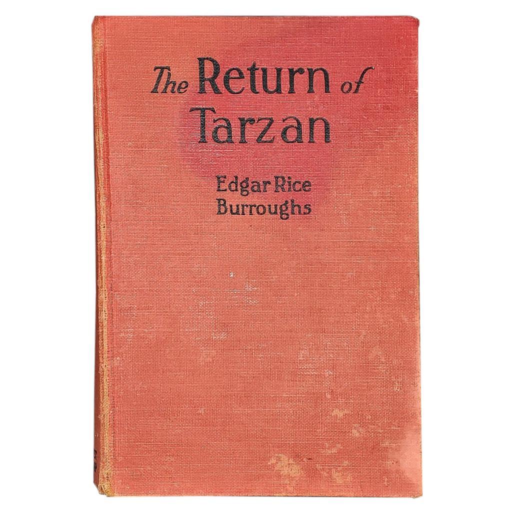 The Return of Tarzan First Edition