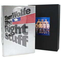 The Right Stuff, Signed by Tom Wolfe, First Edition, First Issue, 1979