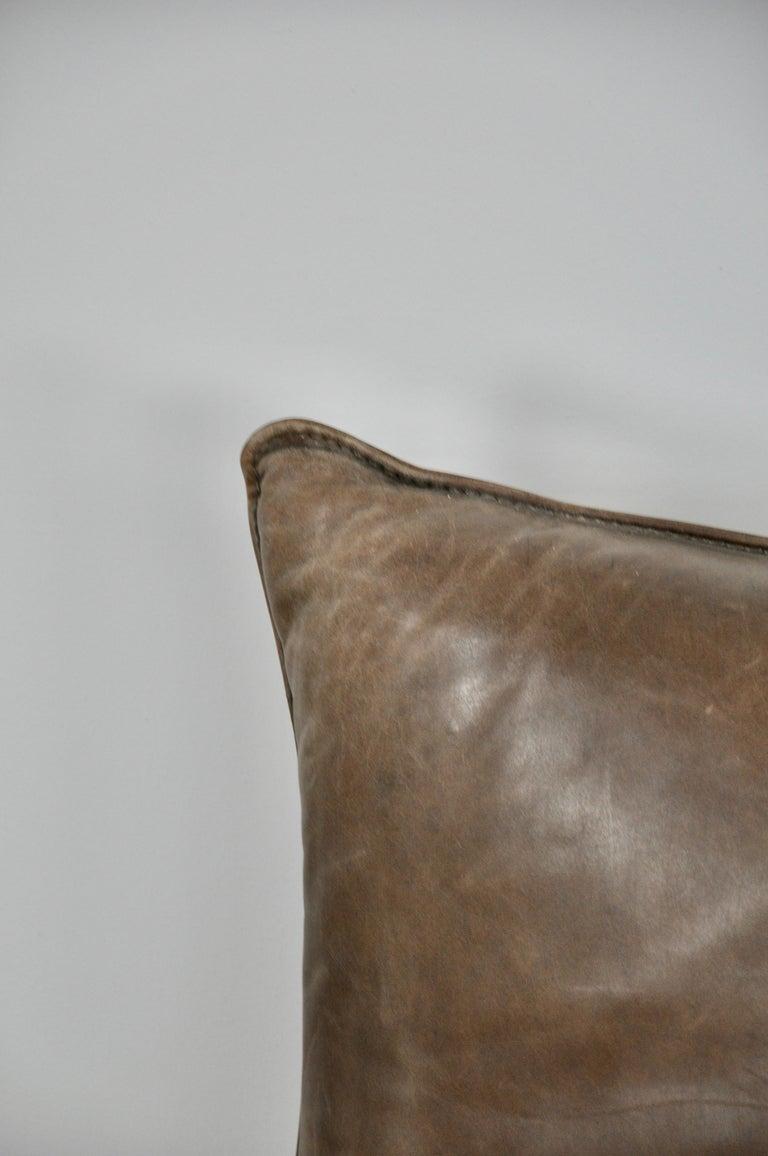 Rock Leather Sofa by Gerard Van Den Berg for Montis, 1970s For Sale 3