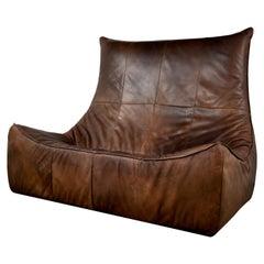 Rock Leather Sofa by Gerard Van Den Berg for Montis, 1970s