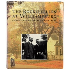 """""""The Rockefellers at Williamsburg"""", Backstage with the Founders, First Edition"""