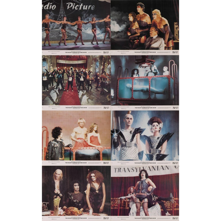 """""""The Rocky Horror Picture Show"""" Set of Eight Mini Lobby Cards For Sale"""