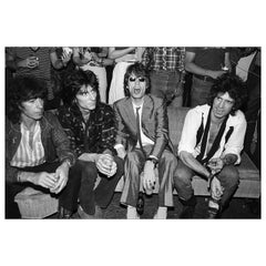 The Rolling Stones at Danceteria, NYC, 1980, Allan Tannenbaum, Photograph