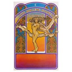 The Rolling Stones in Concert 1969 U.S. Window Card Poster