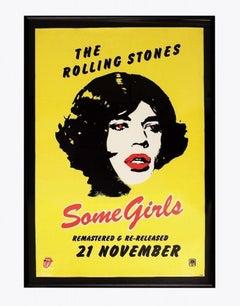 Some Girls Mick Jagger Poster