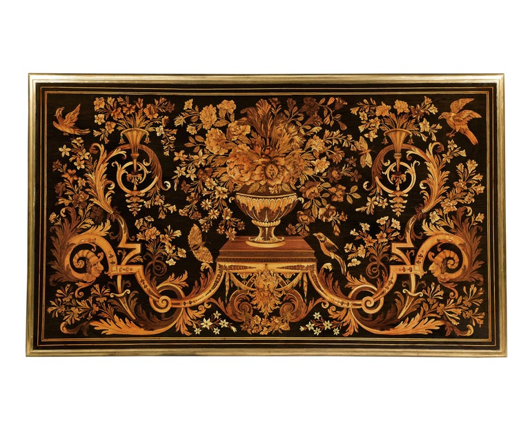 Rothschild Desk Attributed to Pierre Golle For Sale 1