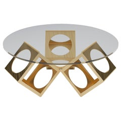 The Round Box Table Designed by Laurie Beckerman