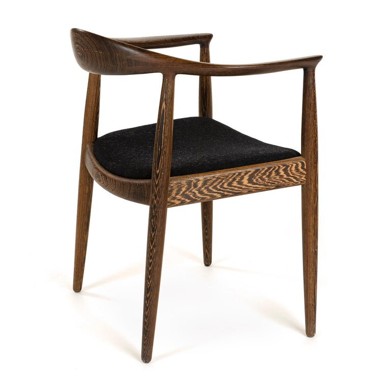 Wenge PP503 The Round Chair in Wengé by Hans J. Wegner for PP Møbler For Sale