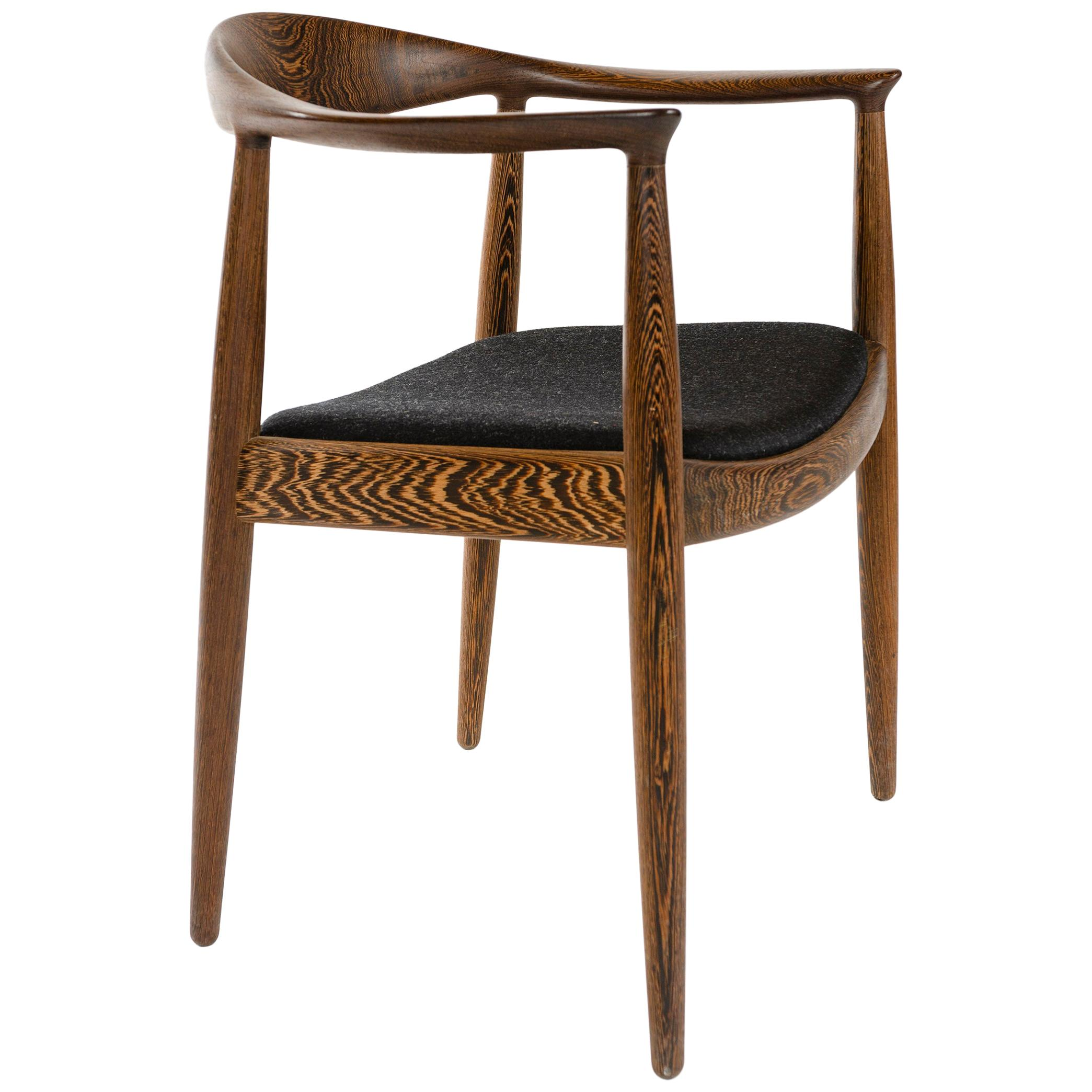 PP503 The Round Chair in Wengé by Hans J. Wegner for PP Møbler