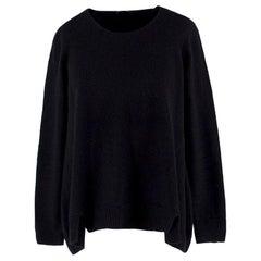 The Row Black Wool Jumper - Size XS