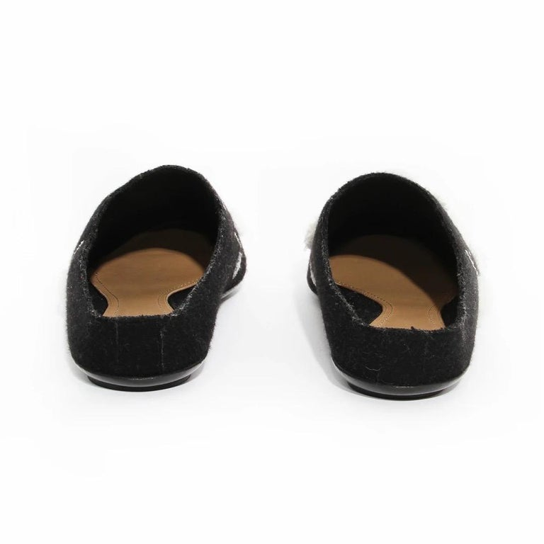 Women's The Row Embroidered Mule For Sale