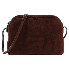 The Row Multi-Pouch Crossbody Bag Suede
