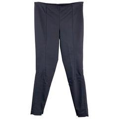 THE ROW Size XS Navy Slim Leg Riding Style Dress Pants