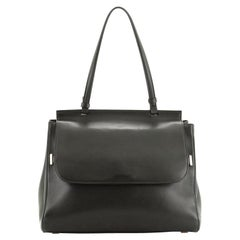 The Row Top Handle 14 Bag Leather Medium