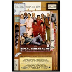 """The Royal Tenenbaums"" 2001 U.S. One Sheet Film Poster"