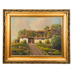 """Rural Cottage"" Painting"