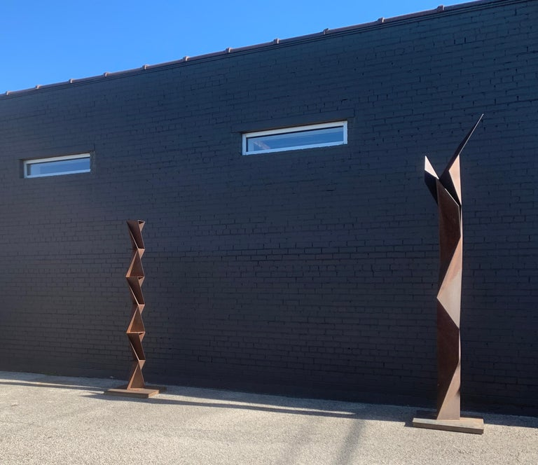 Three sculptures from the series