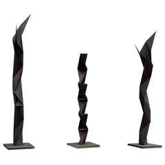 """""""The Rust' Three Sculptures by Japanese Artist Aijiro Wakita"""