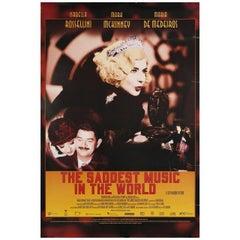 Saddest Music in the World 2003 U.S. One Sheet Film Poster