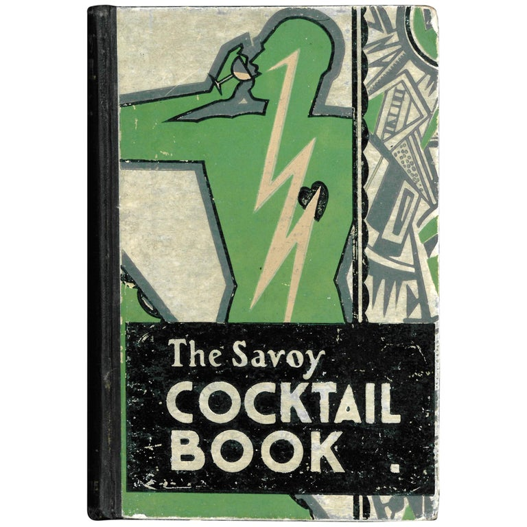 'The Savoy Cocktail Book', '1930' Book For Sale