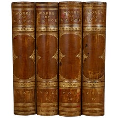 The Selected Works of Edgar Allan Poe in 4 Leatherbound Volumes