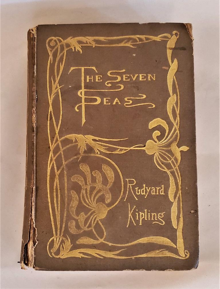 The Seven Seas by Rudyard Kipling First Edition For Sale 9