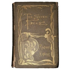 The Seven Seas by Rudyard Kipling First Edition